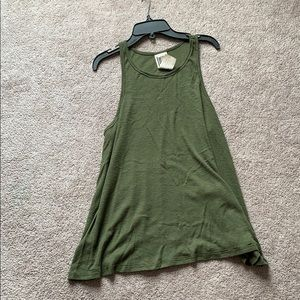 Free People ribbed swing tank